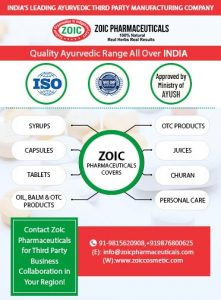 Ayurvedic Third Party Manufacturing Company In India
