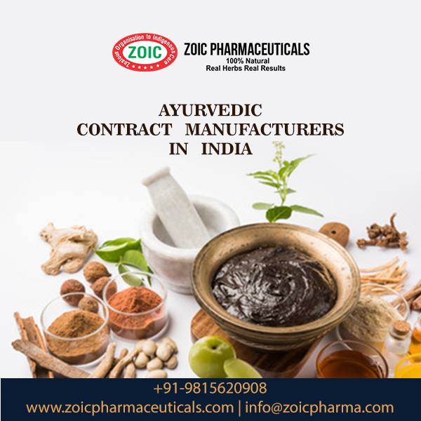 Ayurvedic Contract Manufacturing Company in India